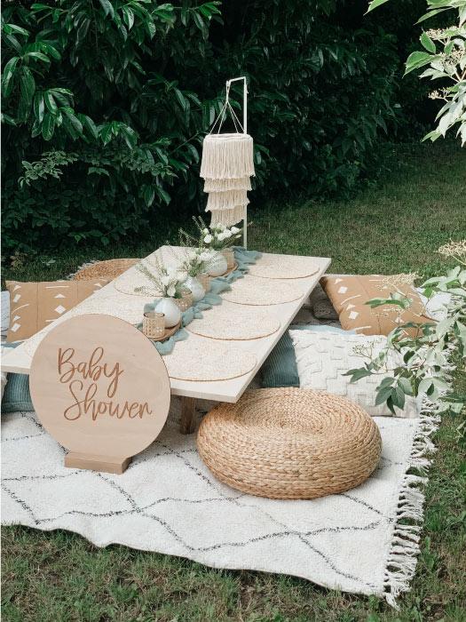 décoration babyshower