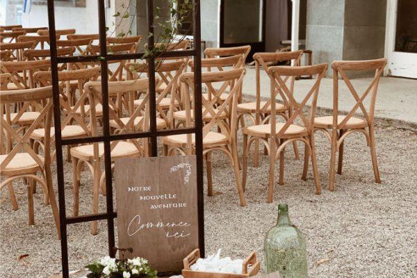 location arche cérémonie